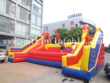 2015 new design inflatable battle zone , inflatable sport games