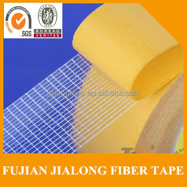 JLT 303B heat resistant high adhesion double-sided filament tape with cross fiber