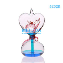 Fashionable Love meter clear glass craft ornaments
