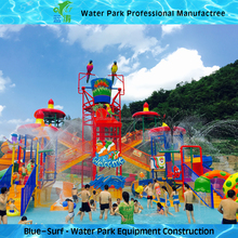 Water Playground for Water park Fibergalss water slides for adult and Kids