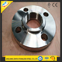 SS316LSlip on hub threaded/thread forged flange