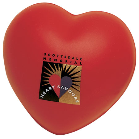 Cheapest foam heart squeeze toy for promotion gifts