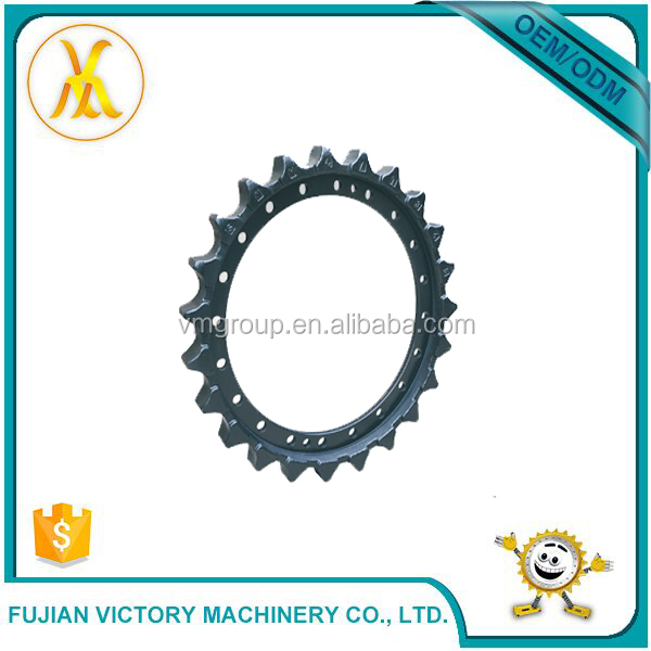 Hot Sales Engineering Professional Customized Roller Chain Bulldozer Sprocket Ring Gear