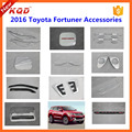 fortuner 2016 body kit chrome kits cover for fortuner 2016 accessories chrome accesories kit for fortuner accessories