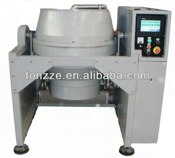 Touch screen Metal wet and dry polishing machine with auto discharging