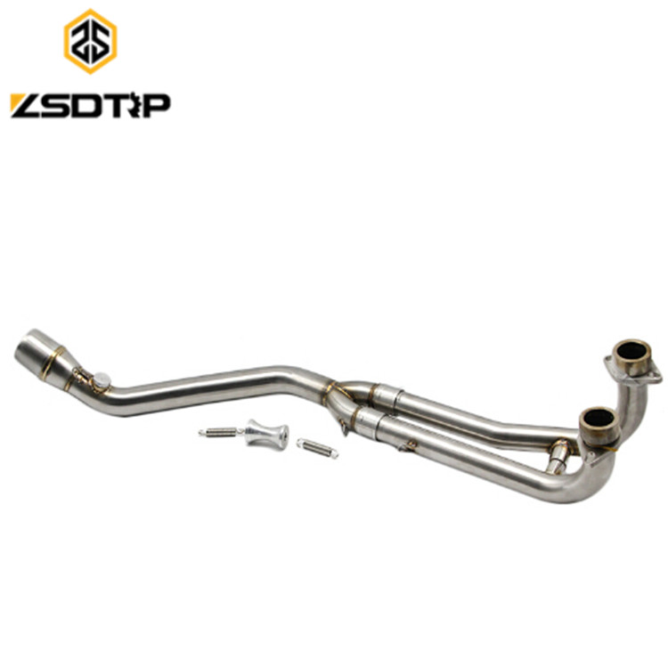 TMAX 500 530 Middlle Pipe Motorcycle <strong>Exhaust</strong> Full <strong>System</strong> Pipe For T-MAX 500 530 2008 - 2016