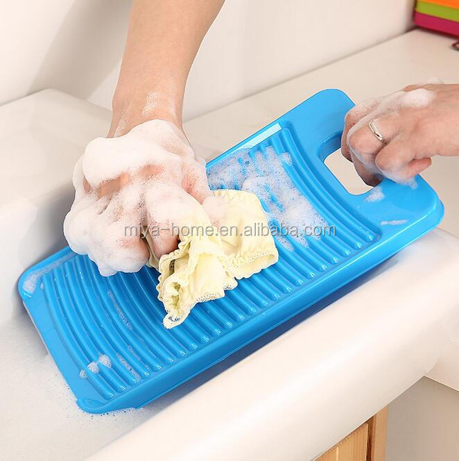 High Quality Non-slip Plastic Washboard Thicker / Home Practical Mini Washing board