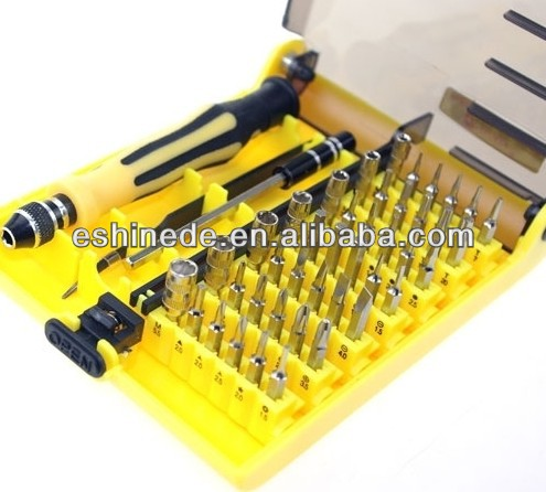 New 45 in 1 Screwdriver Tool Set Repair Kit for Computer, Cell Phone