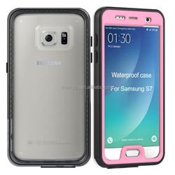 2016 Wholesale Price for Samsung S7 Super Slim Waterproof Case, for Samsung S7 Case