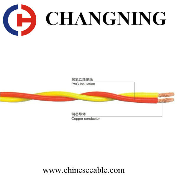 Fire Resistance Copper Conductor PVC Insulation Electric Wire Cable