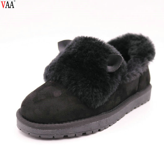 Winter Factory Direct Discount Real Sheepskin Cute Cartoon Pattern Winter Women Slippers Indoor Shoes JLX-CF-321