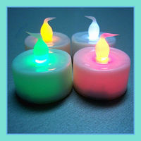 Rechargeable Led Tea Wax Candel Light/ gift light