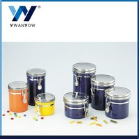 Taiwan colorful stainless steel storage bottle