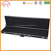 Custom-made Professional Aluminum Locking Gun Case Hard Storage Carry Case
