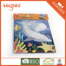 Eva Mosaic with adhesive wholesale DIY Eva Foma Kids Mosaic Craft