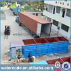Package MBR plant sewage wastewater treatment plant equipment