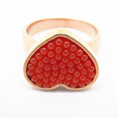 China 2014 Fashion Jewelry Women Accessories Stainless Steel Ring Pearl