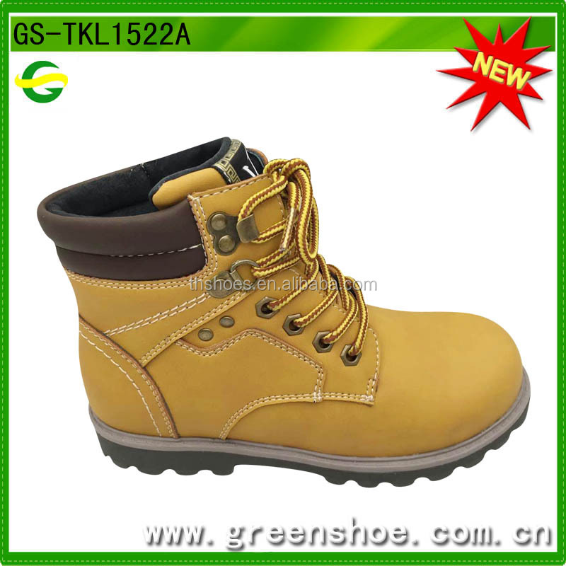 PU Upper with High Cut casual boots for Children