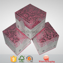 Free sample professional supplier certificates perfume cosmetic packaging box