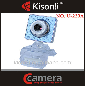 USB 2.0 Webcam For Laptop PC Camera With Crystal Clip