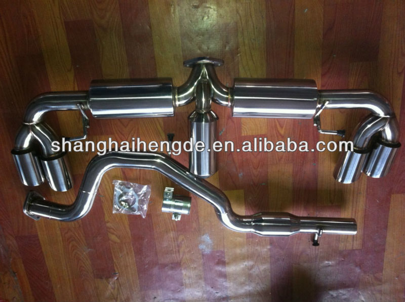 CATBACK Exhaust system / DOWN PIPE/ EXHAUST PIPE for AUTI TTS 2.0T