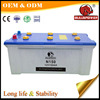 Hight cca Long time backup MF car battery 6v 12v 150ah dry battery