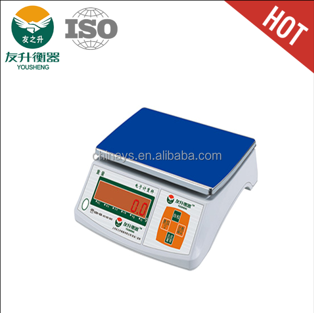 Double Plate ABS Materials LED Big Font Red Light Display Weighing Scale Digital,New Strong ABS Materials
