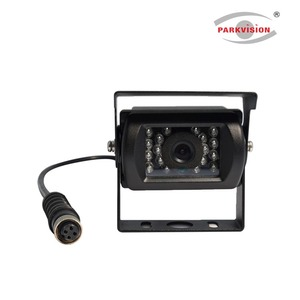 AHD Front Side Backup Rear View Camera Set for Caravan Bus Van Truck Trailer RV Campers Aviation Connector