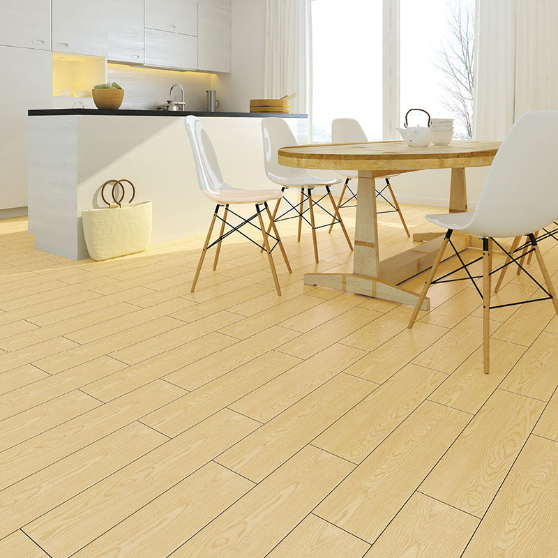 2019 new trend product matte finish wood grain ceramic floor tiles