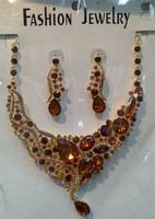 TOP SALE Fashion Design multi semi precious stone necklace