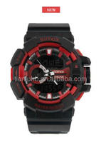 Japan Movment Quartz Watch Stainless Steel Black Digital Watches Men Led Quamer Sport Wrist Watch