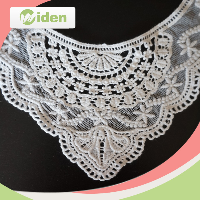Embroidery Collar lace, multicolour 3D appliques