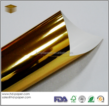 glossy/matt Laminated Gold Paper
