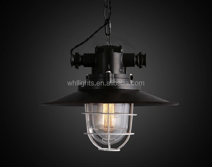 2017 vintage industrial metal adjustable chandelier pendant hang light