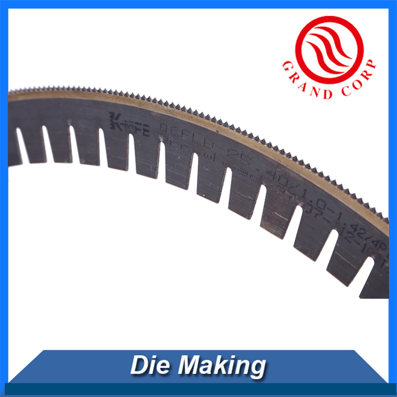 2pt 3pt Center Bevel Die Cutting Blade/Steel cutting blade/0.71mm steel rule die blades