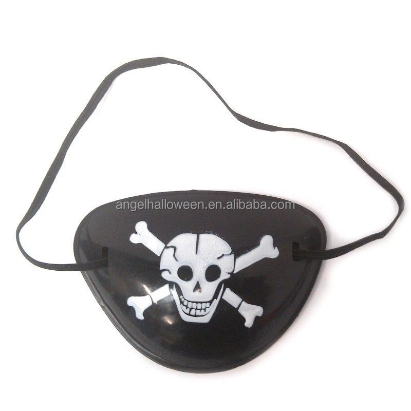 Fancy Dress Pirate Eye Patch Captain Jack Toy Gift Boy Girl Birthday Party Bag Fillers HD6059