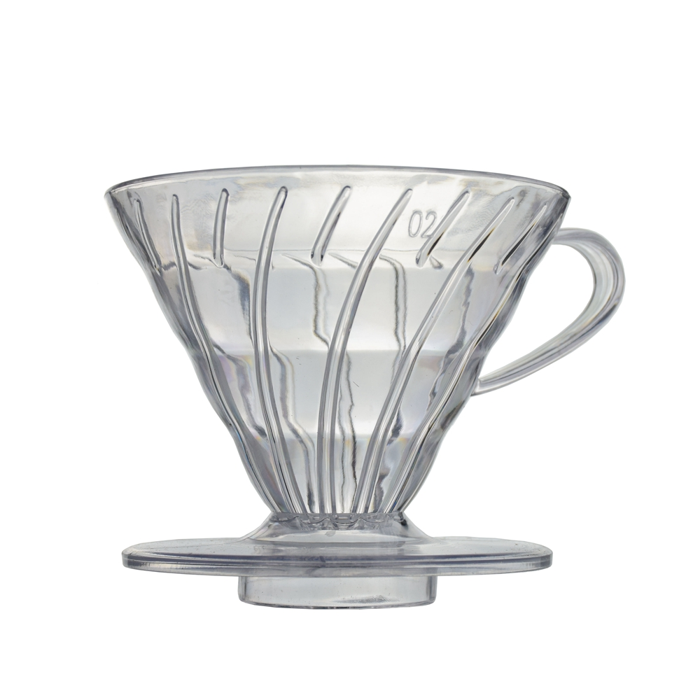 Ecocoffee Hot Sell <strong>Coffee</strong> Dripper V60 Heat-resistant resin 2/4cups for barista <strong>Coffee</strong> Stocked