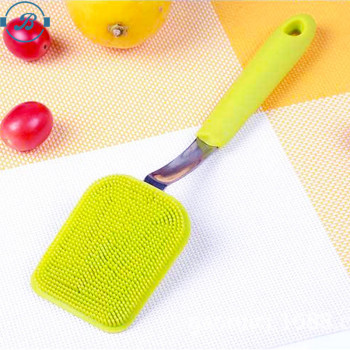 BPA Free Multi-function Silicone Dish Washing Brush Silicone Pot Brush