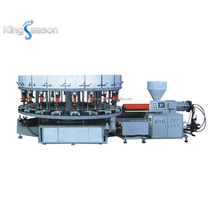 KS-5116 Rotary PVC/TPR Shoe Sole Making Injection Molding Machine(1/2/3Color)