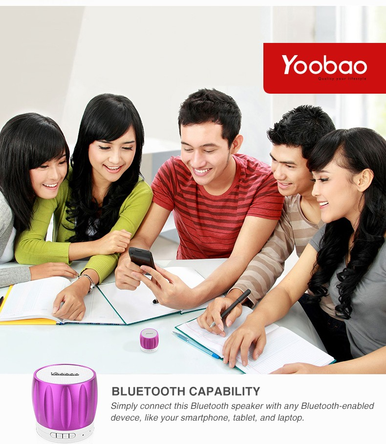 YOOBAO Hifi Mini Bluetooth music speakers 202