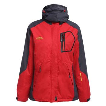 Free Shipping Outdoor Sports Women Water Resistant Windproof Breathable Skiing Snowboarding Jacket