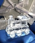 fashion Favors crystal Christmas gift crystal gift Crystal Choo-Choo Train