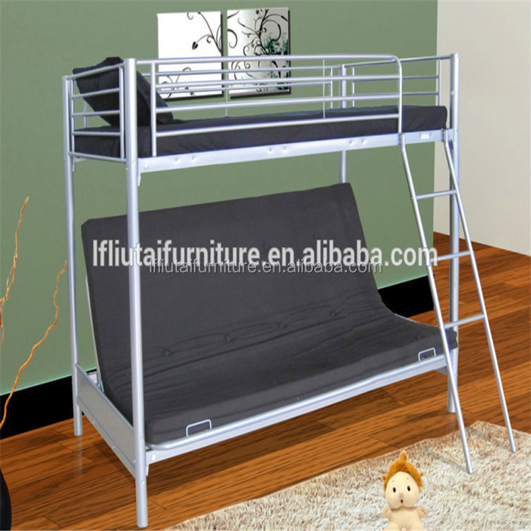 Modern Appearance and Double Size futon bunk bed