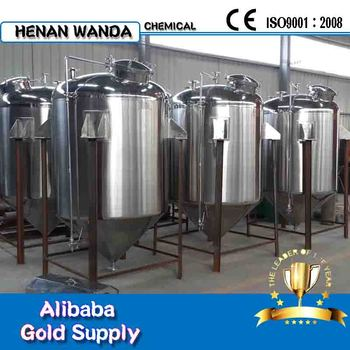 1000L Vertical stainless steel water storage tank