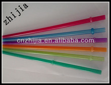 Hard plastic party drinking straws with cover