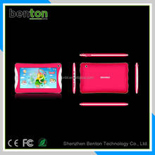 High Quality 7inch Quad core Dual OS plastic kids tablet guangzhou