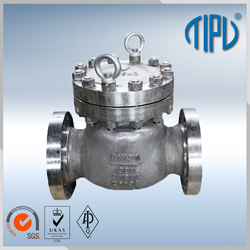 mini natural gas check valve with multiple functions