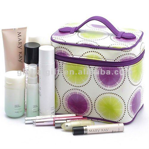 PVC Cosmetic Bag Train Case
