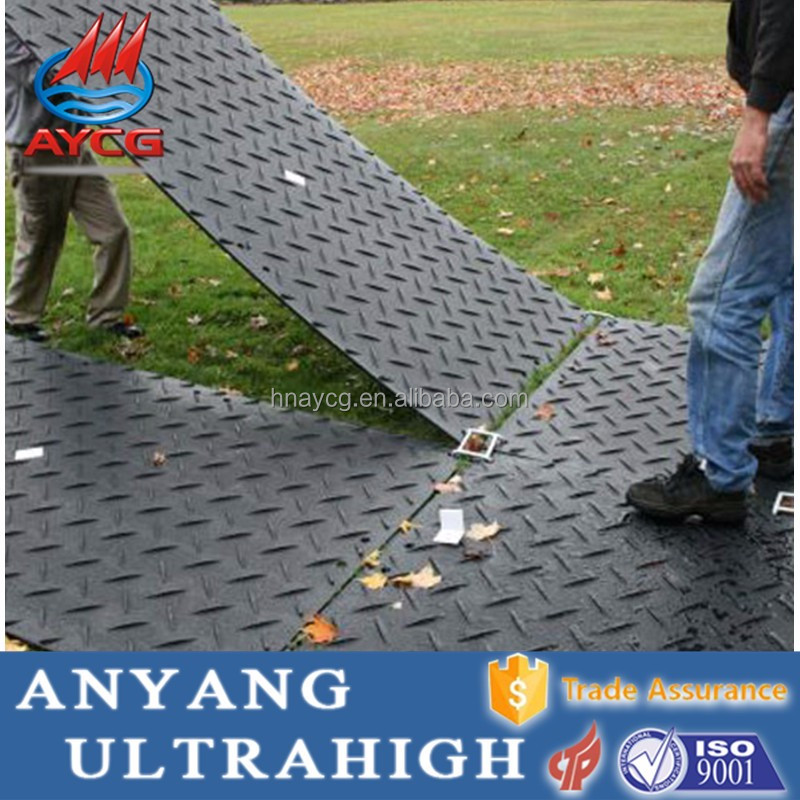 portable uhmwpe temporary waterproof road mat hdpe plastic ground cover <strong>sheet</strong>