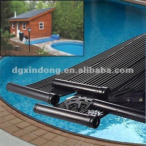 Synthetic rubber homemade diy solar swimming pool heater shs002 buy diy solar pool heater for Solar heaters for swimming pools